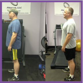 """In just two short months I was able to take 3.5″ off of my waist."""