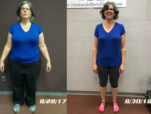 Lancaster PA Personal Training and Nutrition Coaching Client Amy Troyer Before and After