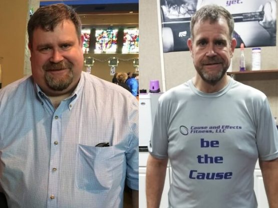 Lancaster PA Personal Training and Nutrition Coaching Client Lane Before and After